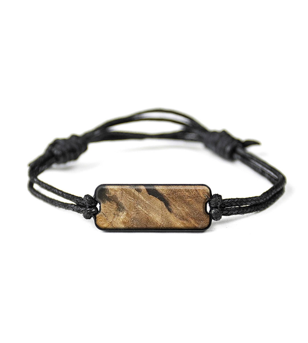 Classic Wood+Resin Bracelet - Antonia (Pure Black, 366565)