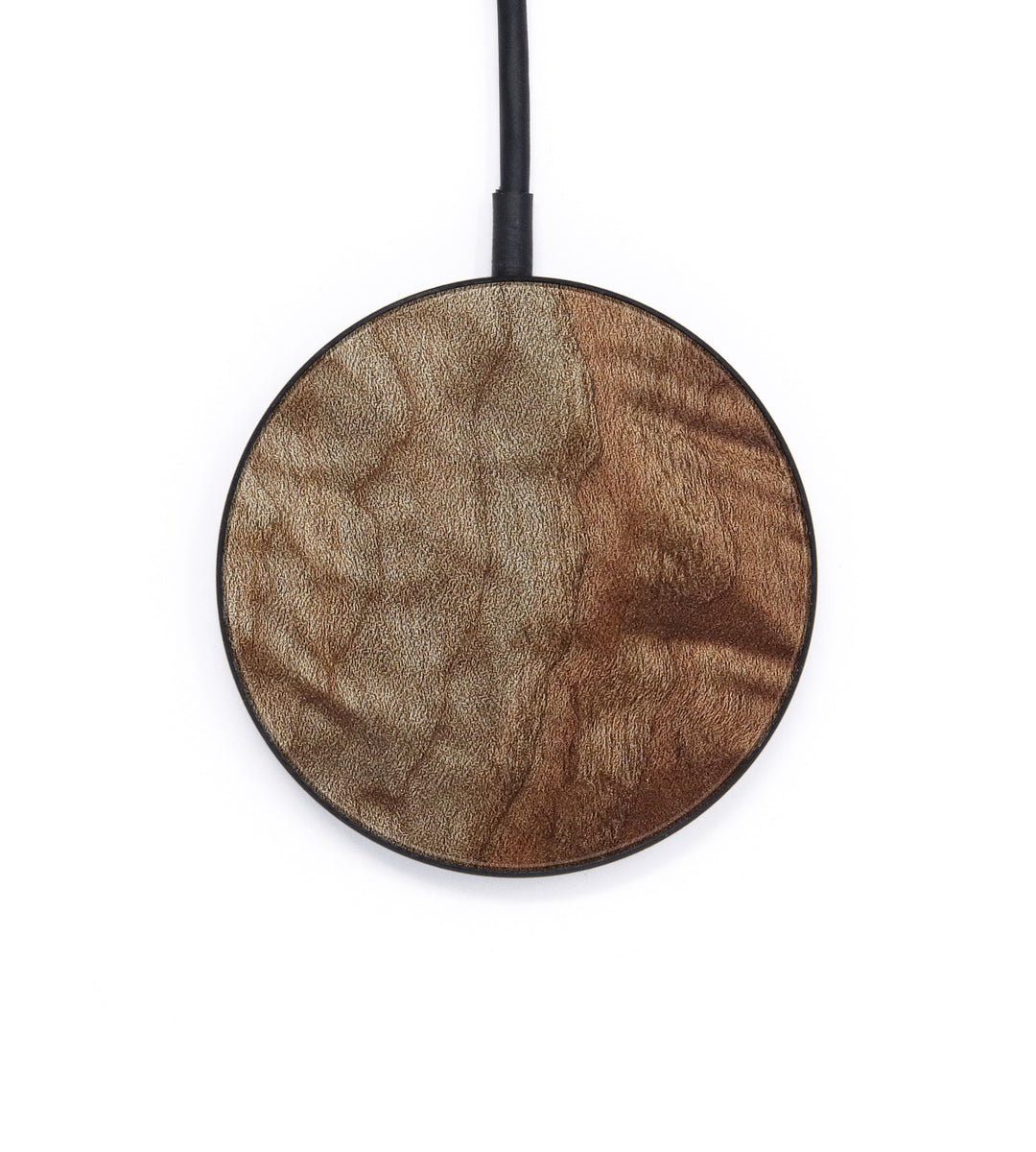Circle Wood+Resin Wireless Charger - Ting (Maple Burl, 386388)