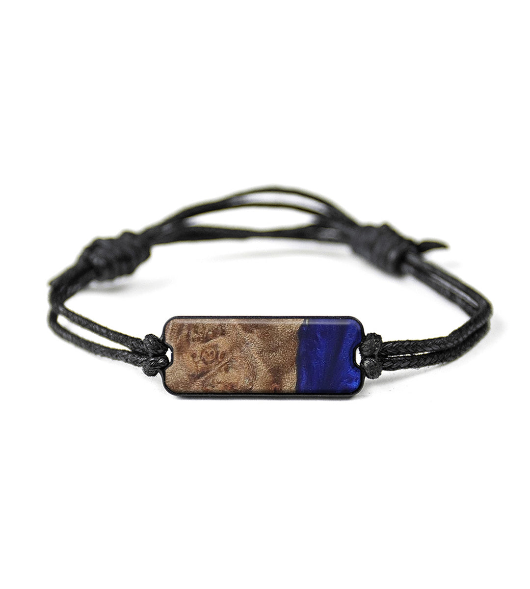 Classic Wood+Resin Bracelet - Celisse (Dark Blue, 416997)