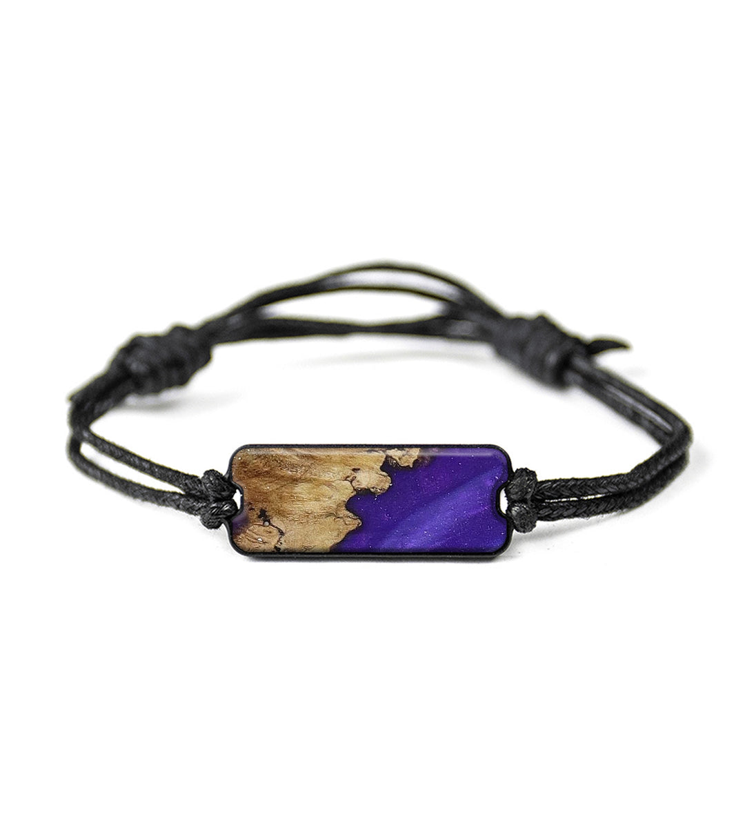 Classic Wood+Resin Bracelet - Fadi (Purple, 394022)