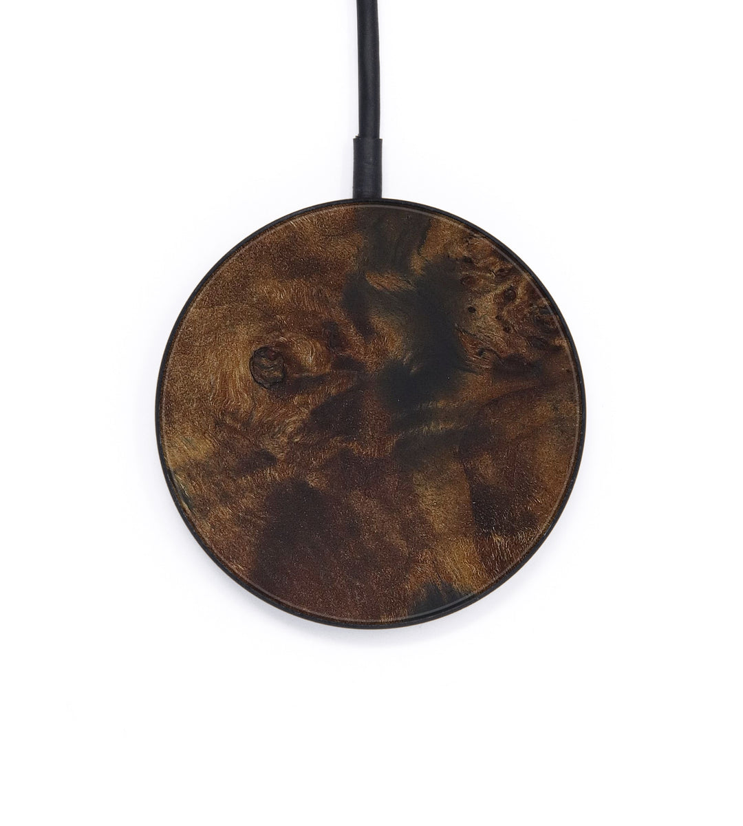 Circle Burl Wood Wireless Charger - Mariele (Maple Burl, 408763)