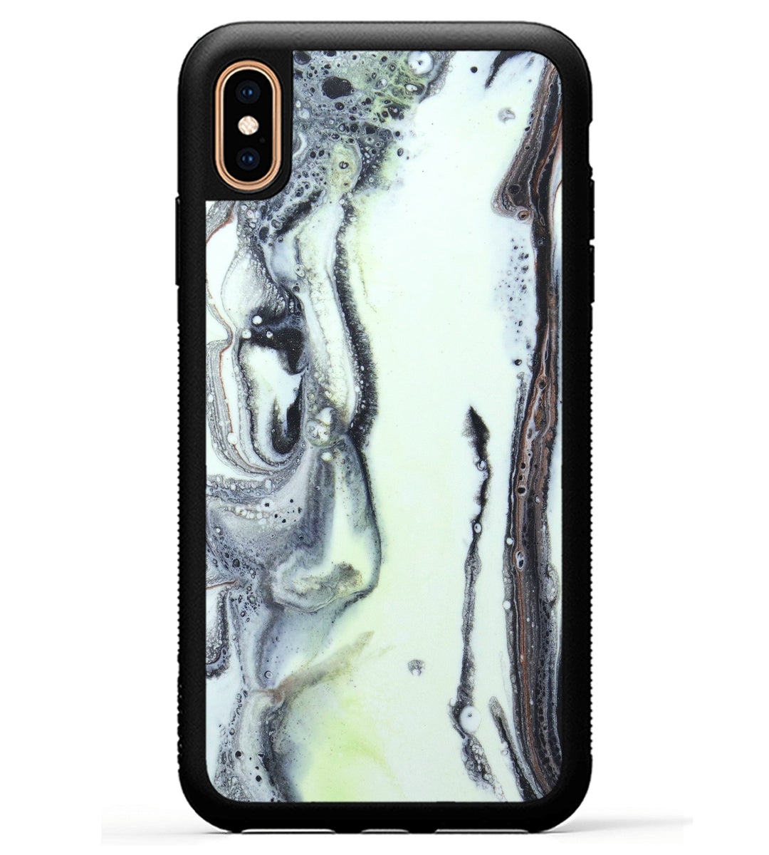 iPhone Xs Max Case - Patti (Black & White, 345864)
