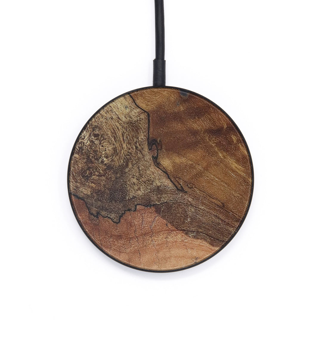 Circle Burl Wood Wireless Charger - Erik (Maple Burl, 408760)