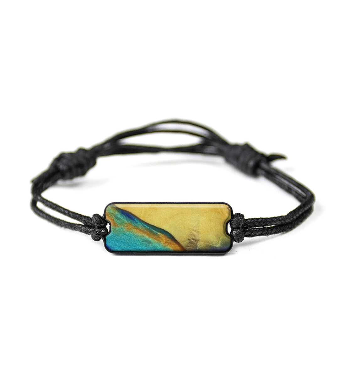 One of a kind Bracelet - Buffy (Teal & Gold, 342559)