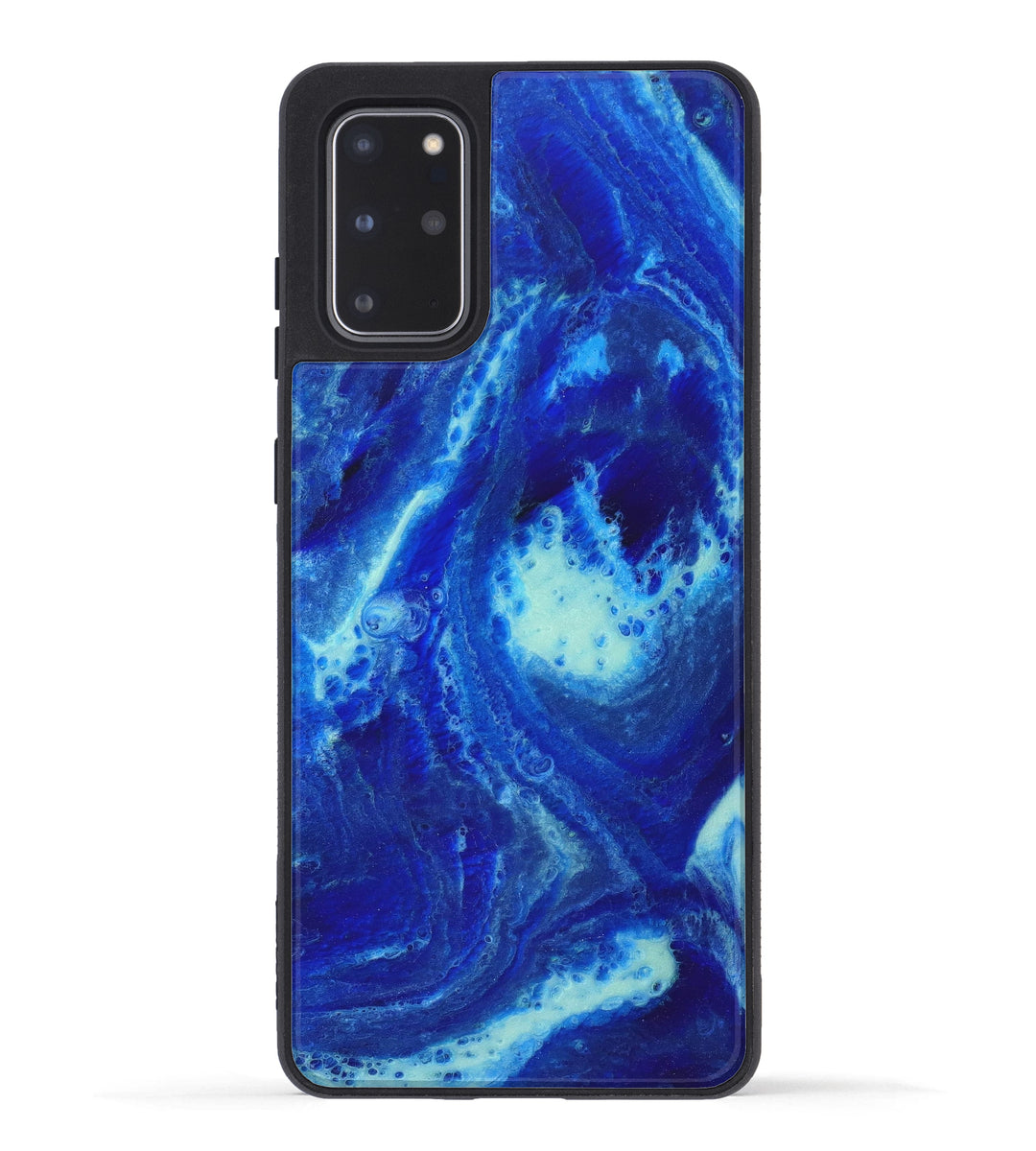 Galaxy S20 Plus ResinArt Phone Case - Lilia (Dark Blue, 347543)