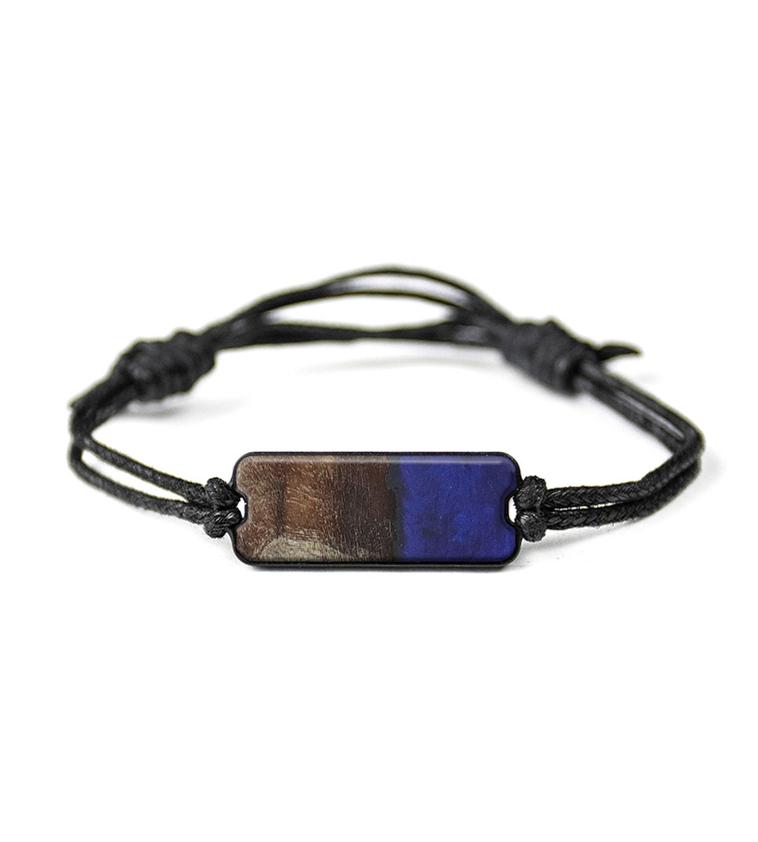 Classic Wood+Resin Bracelet - Othilie (Dark Blue, 416179)