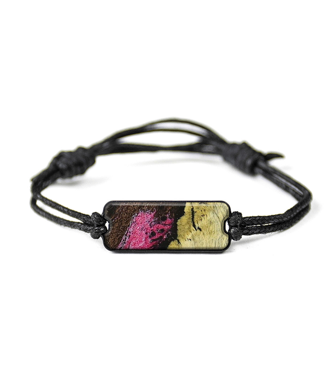 Classic Wood+Resin Bracelet - Corkstown (Pink, 348603)