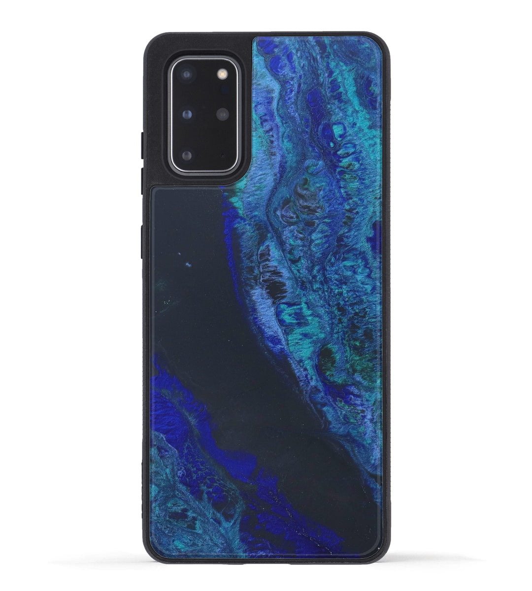 Galaxy S20 Plus ResinArt Phone Case - Millard (Dark Blue, 347378)