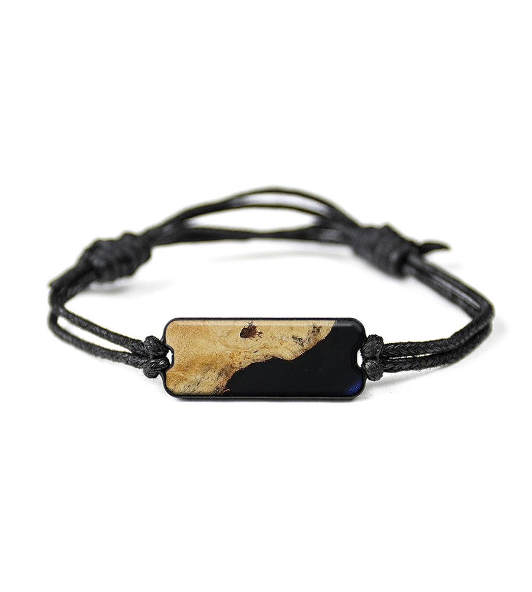 Classic Wood+Resin Bracelet - Yawar (Dark Blue, 415145)