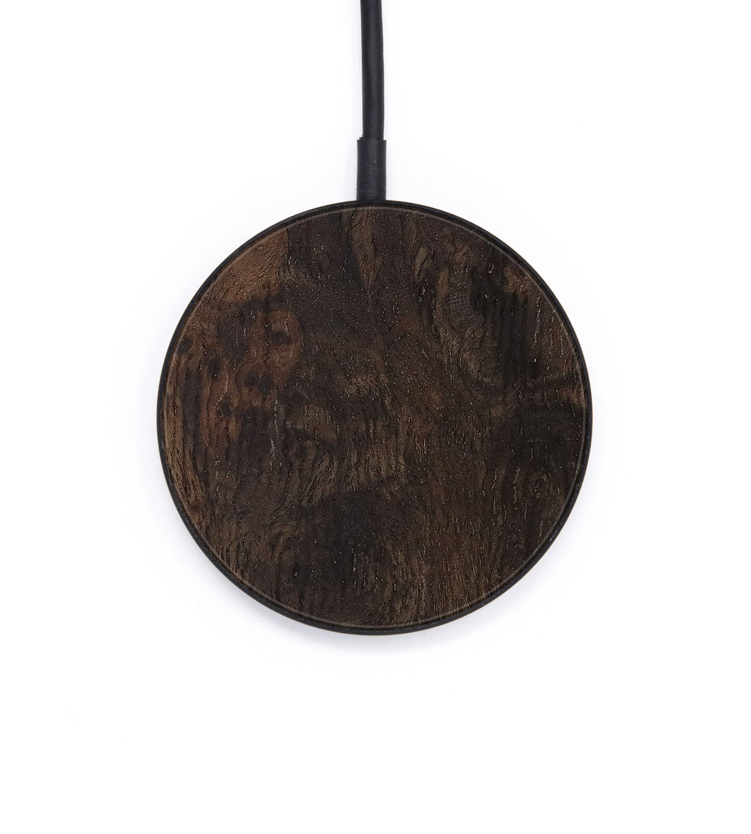 Circle Burl Wood Wireless Charger - Alexia (Maple Burl, 405047)
