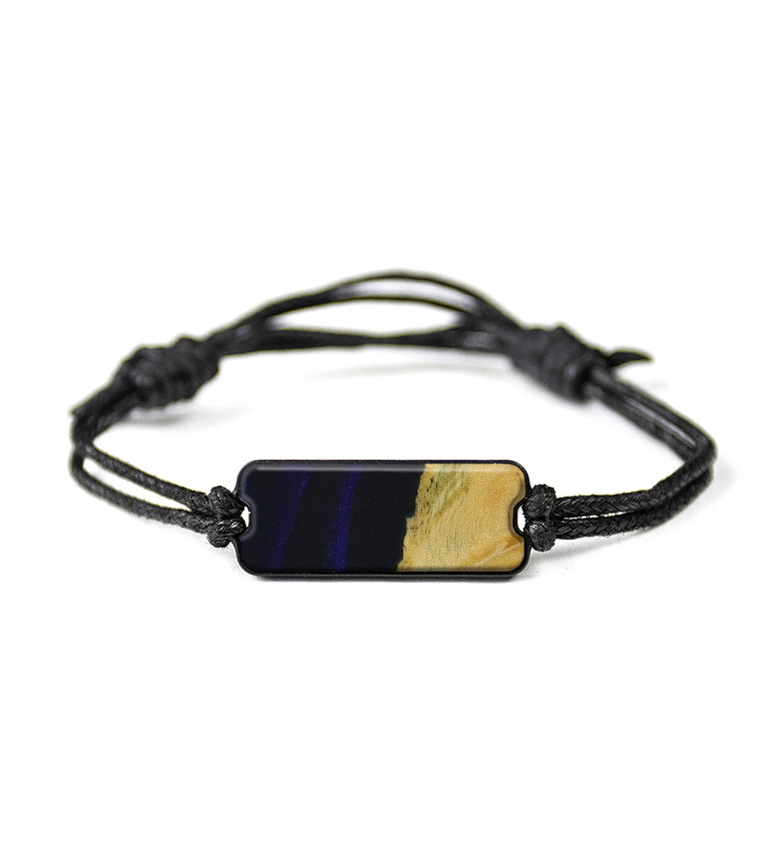 Classic Wood+Resin Bracelet - Candie (Dark Blue, 417002)