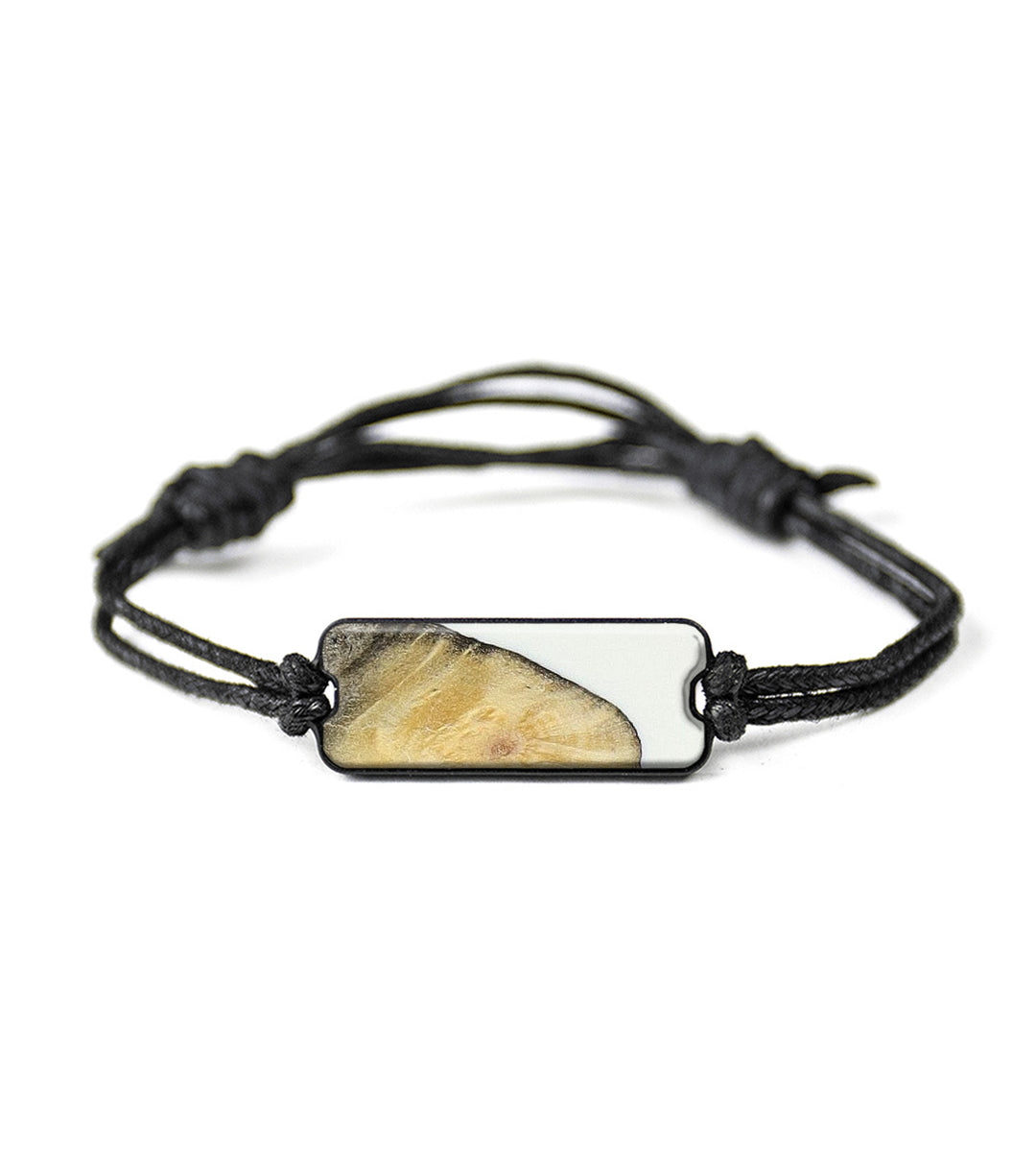 Classic Wood+Resin Bracelet - Bamby (Black & White, 394169)