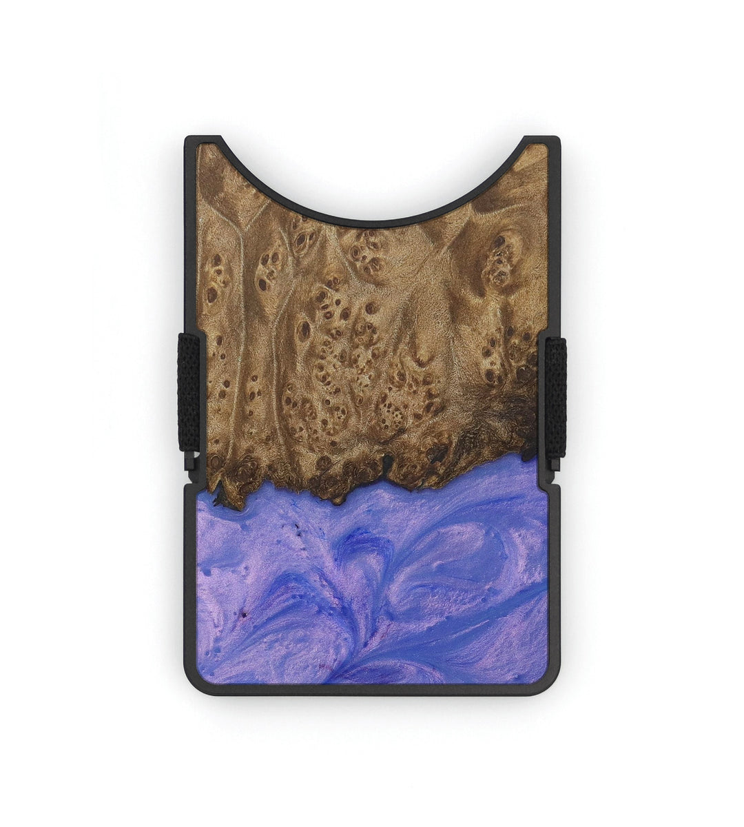 Alloy Wood+Resin Wallet - Wilfred (Purple, 399866)