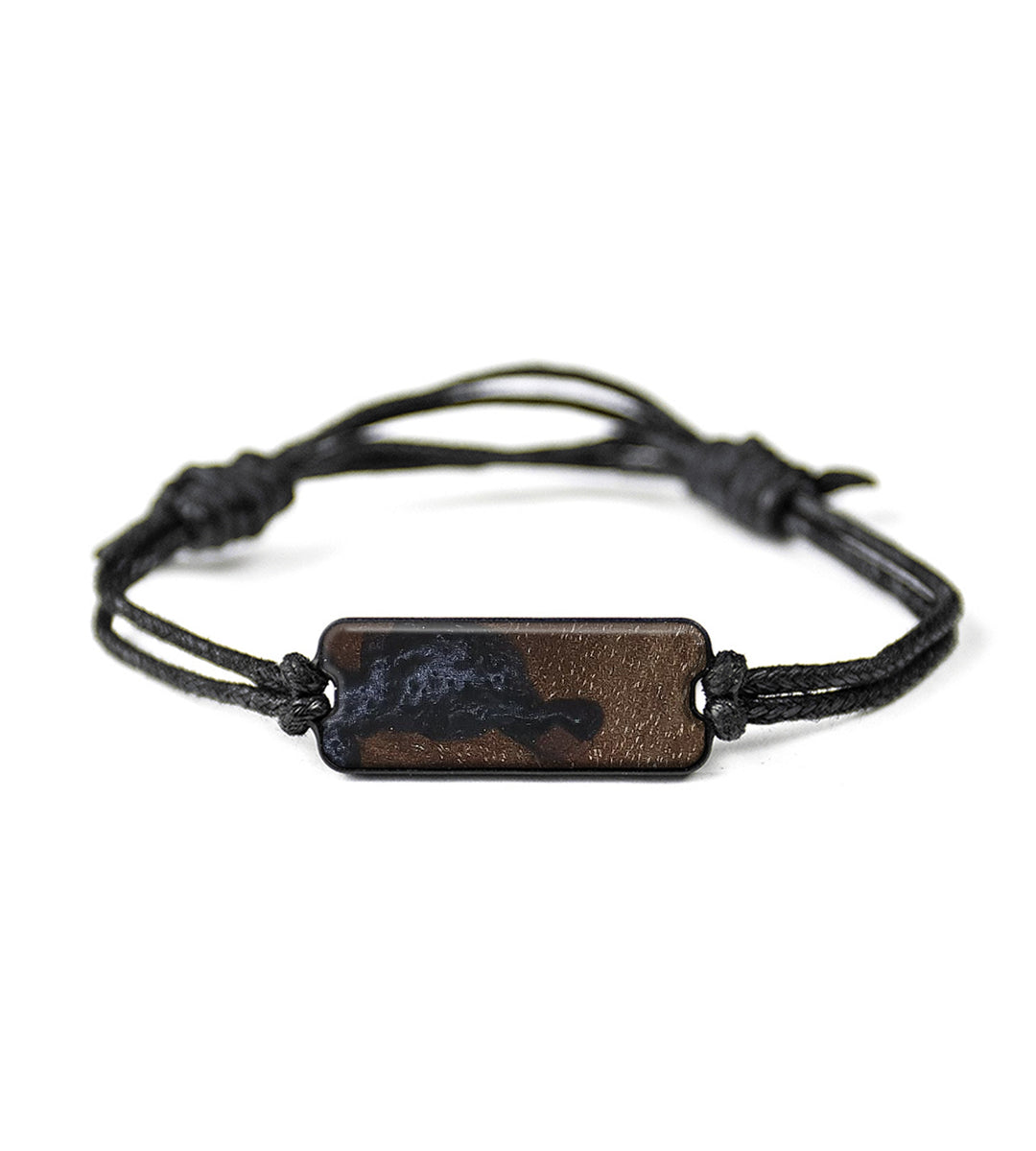 Classic Wood+Resin Bracelet - Kirsteni (Walnut Burl, 367173)