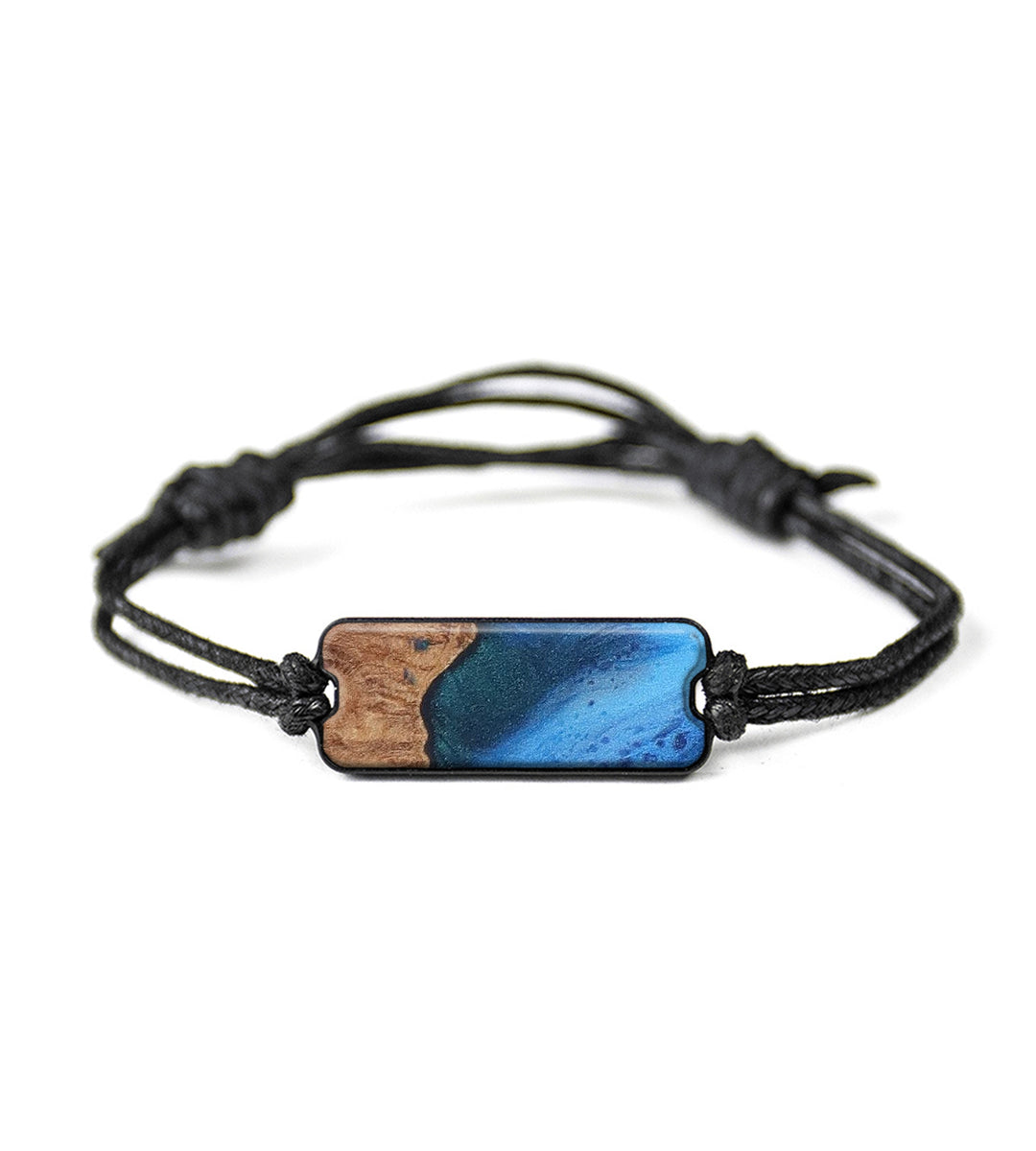 Classic Wood+Resin Bracelet - Moyna (Dark Blue, 423235)