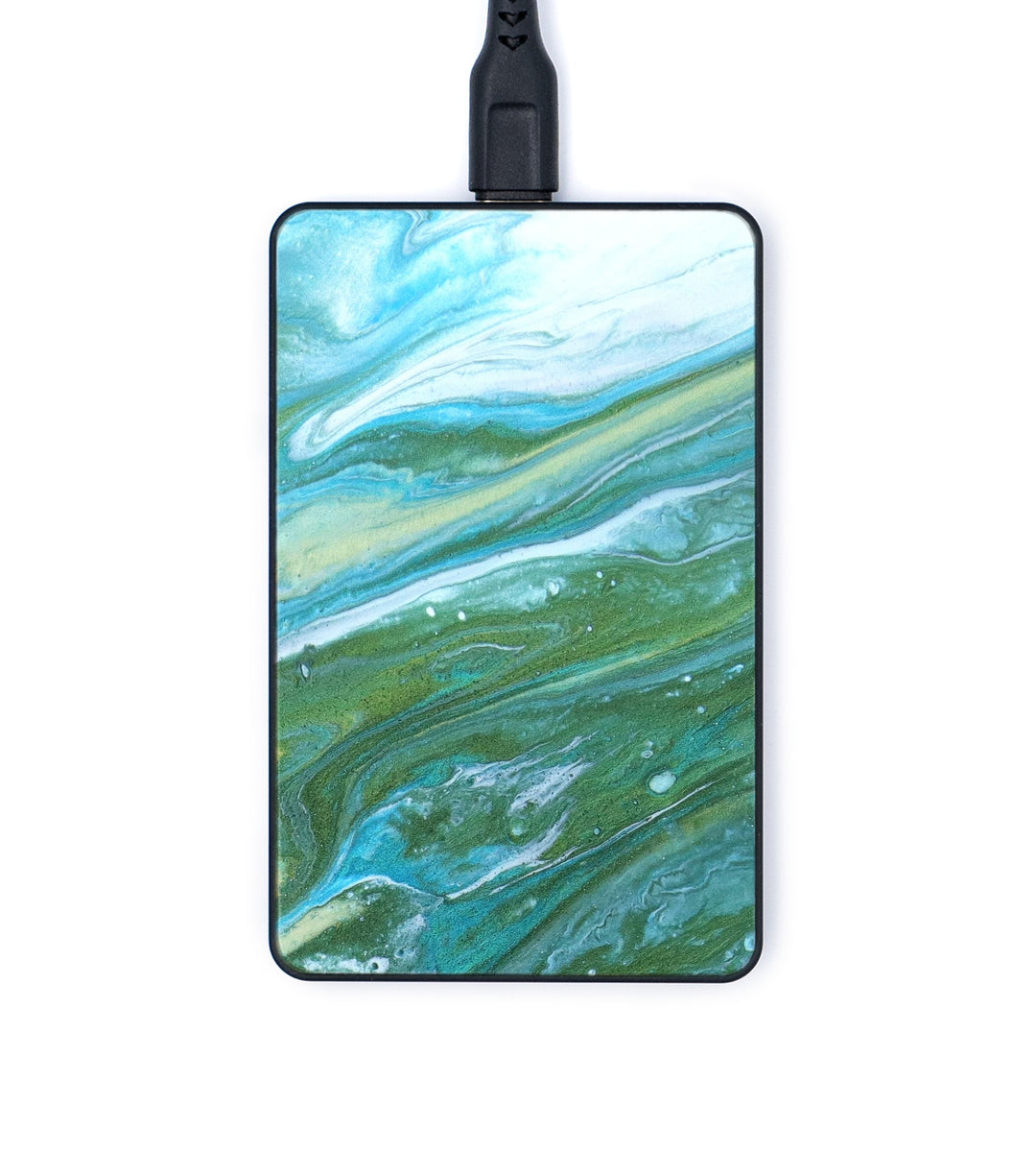 Thin Wireless Charger - Maidxpm (Teal & Gold, 346061)