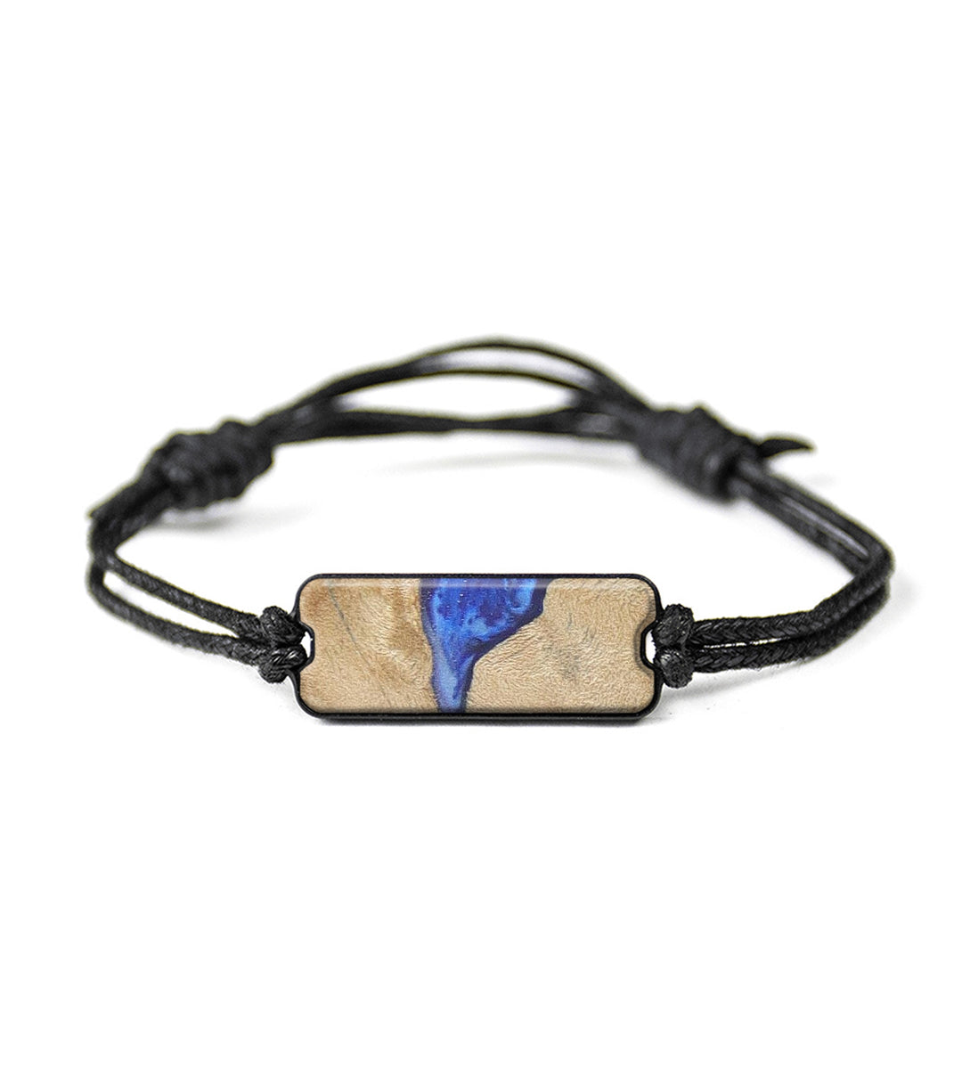 Classic Wood+Resin Bracelet - Ferdinanda (Dark Blue, 358159)