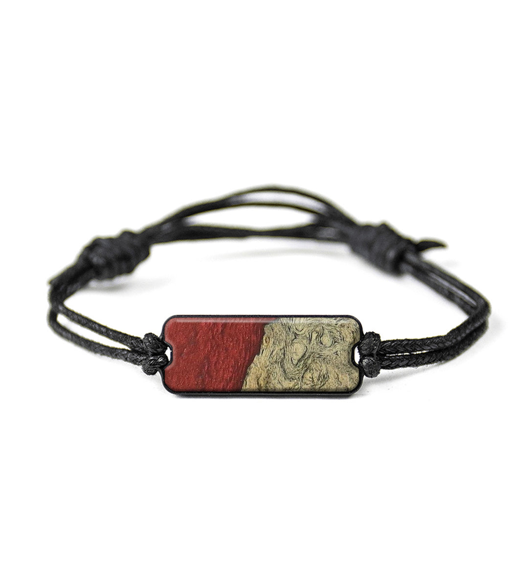 Classic Wood+Resin Bracelet - Rozanna (Dark Red, 358250)