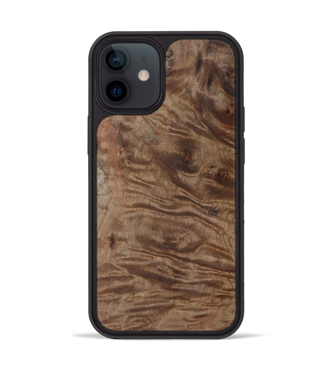 iPhone 12 mini Burl Wood Phone Case - Stephen (Maple Burl, 397434)