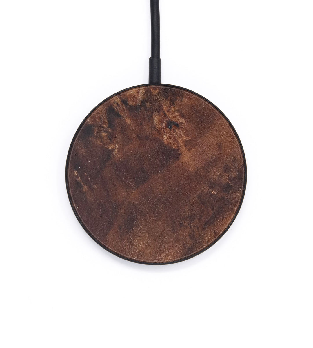 Circle Burl Wood Wireless Charger - Pat (Maple Burl, 408761)