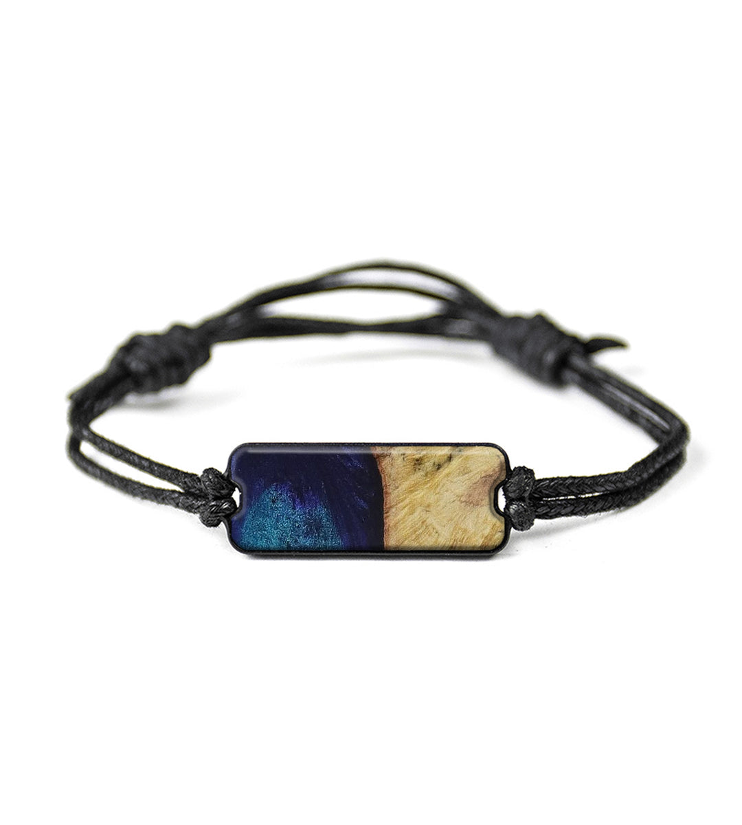 Classic Wood+Resin Bracelet - Marcia (Dark Blue, 423092)