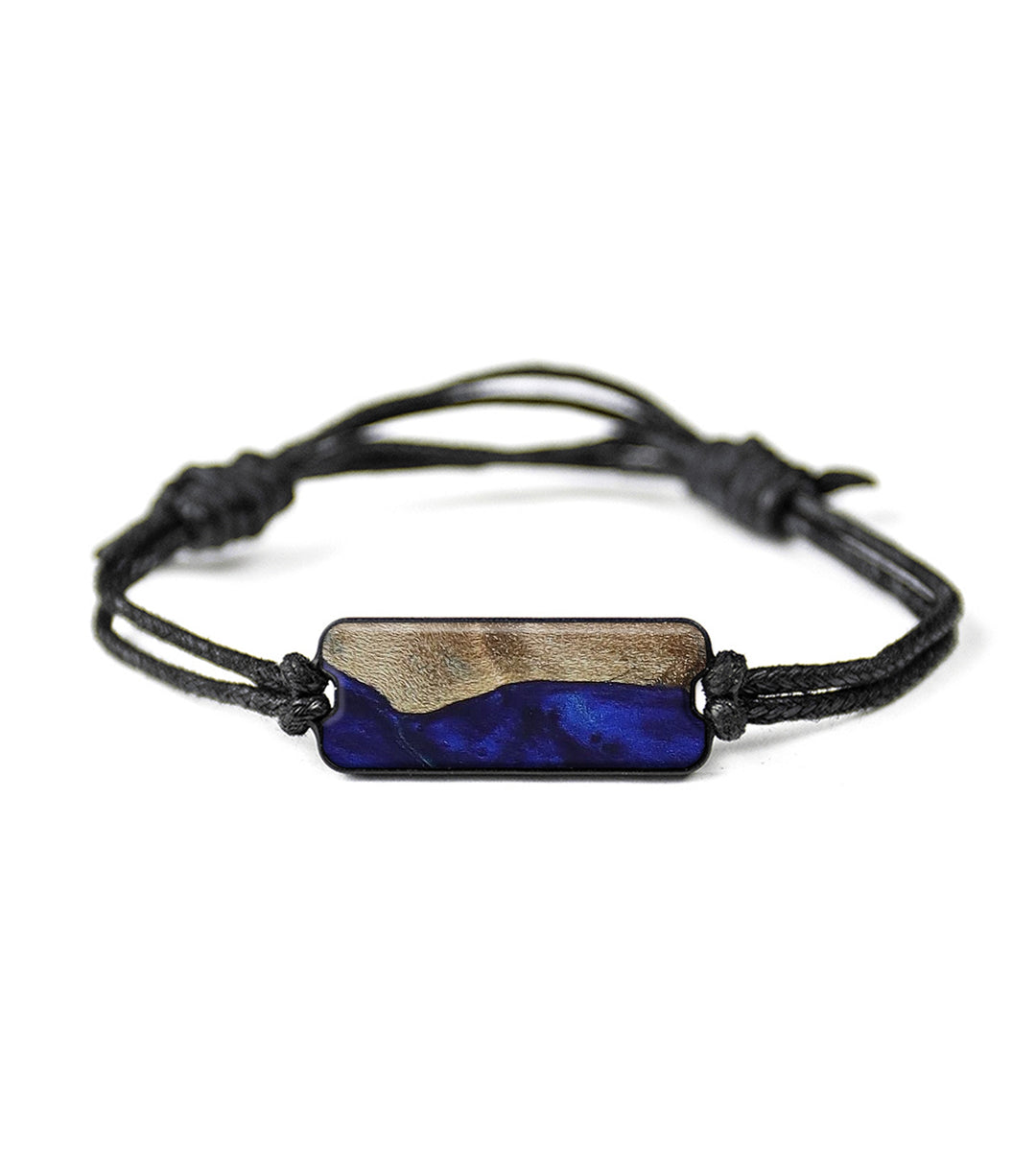Classic Wood+Resin Bracelet - Emmie (Dark Blue, 416114)