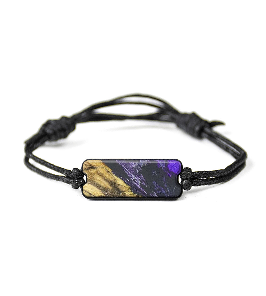 Classic Wood+Resin Bracelet - Nikaniki (Purple, 348610)