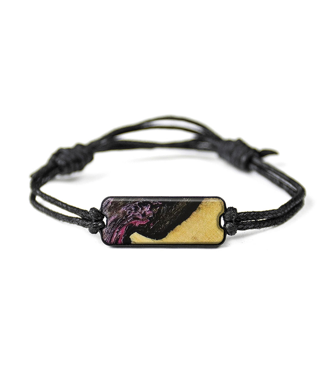 Classic Wood+Resin Bracelet - Brand (Purple, 348601)