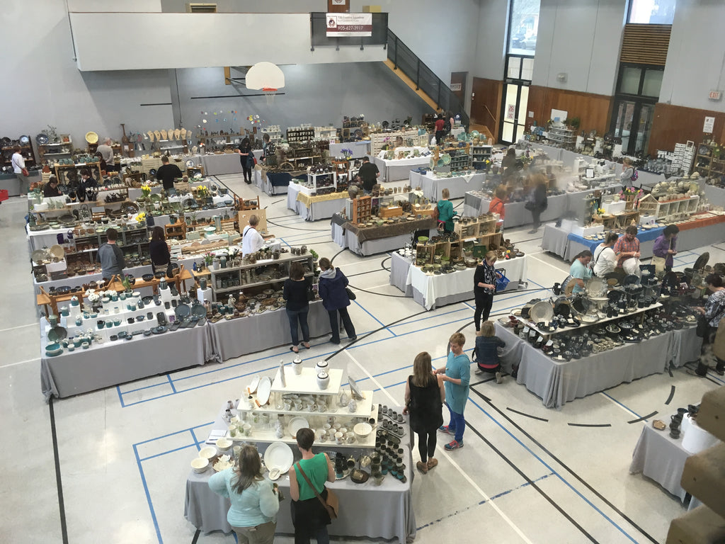 Spring Fling Road Trip to Hamilton & Region Potter's Sale