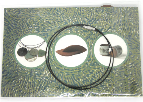 back package jacquie blondin ceramic pendant clear bag flip seal packaging branding