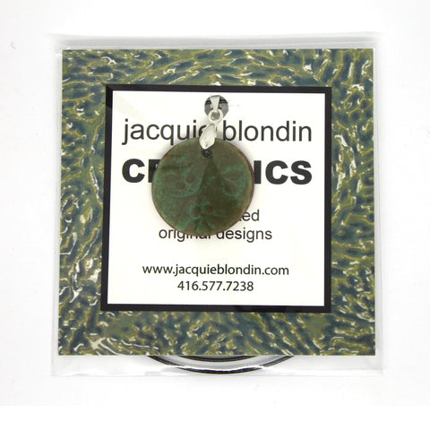 front small package jacquie blondin ceramic pendant clear bag flip seal packaging branding