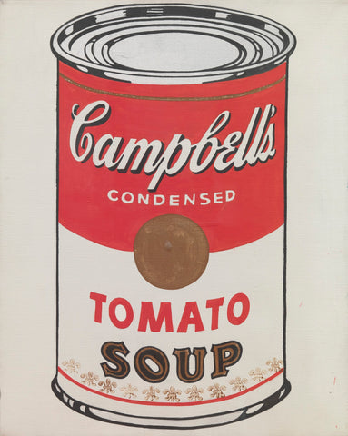 andy warhol campbells tomato soup can