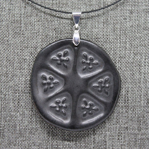 Slice of Life Pendant Necklace