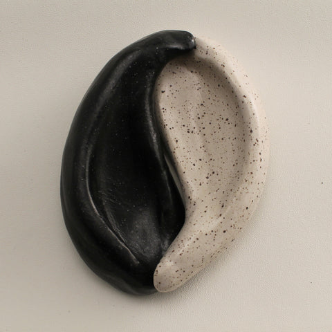 Black and White Yin Yang Decorative Objects