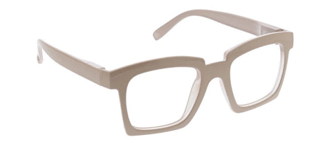 Standing Ovation Readers Glasses Light Blocking Taupe
