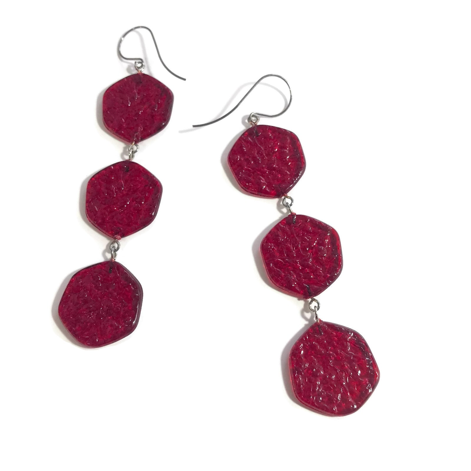 long red earrings