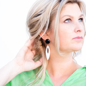 cellulose earrings