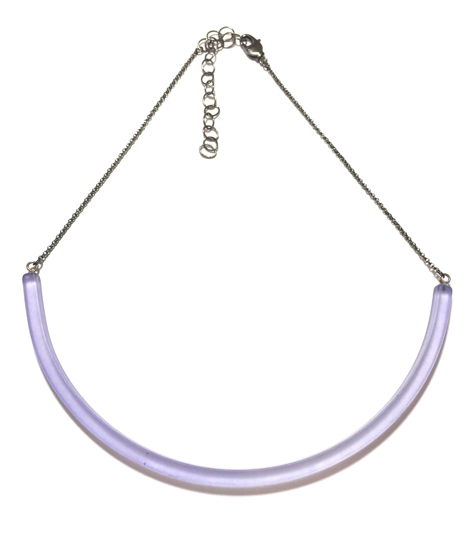 periwinkle blue necklace