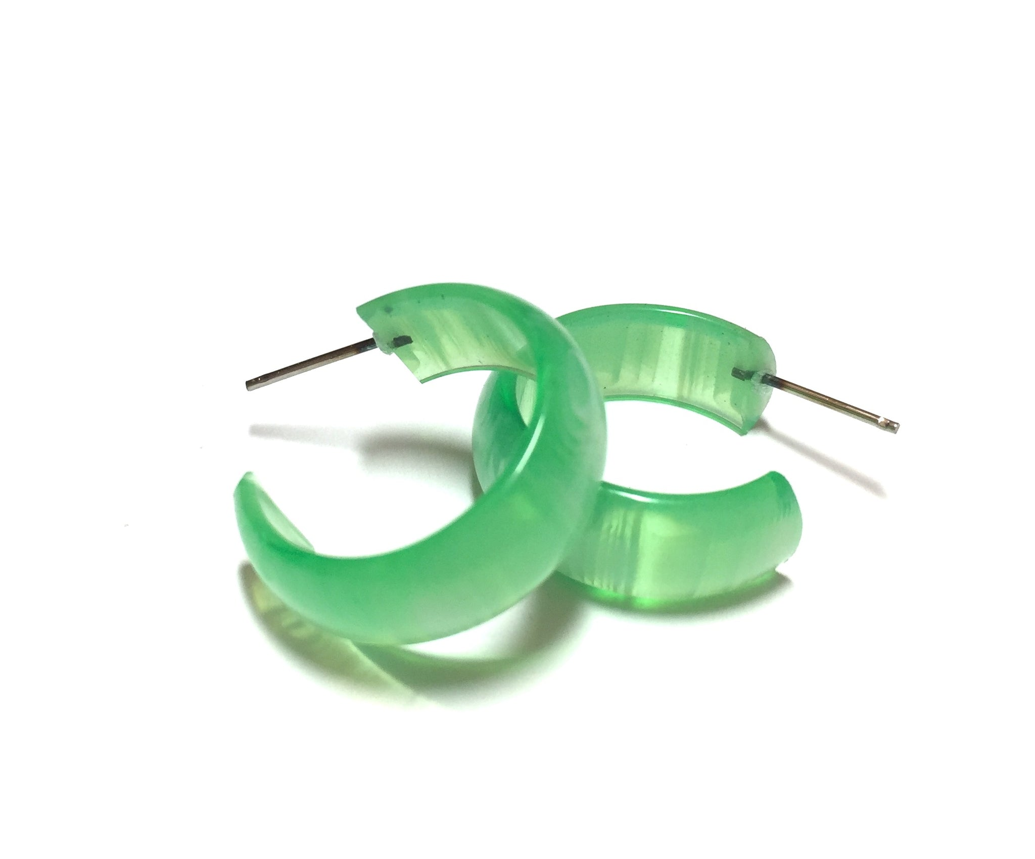 green striped moonglow hoop