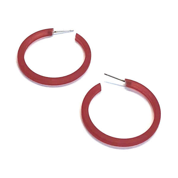 thin red hoops