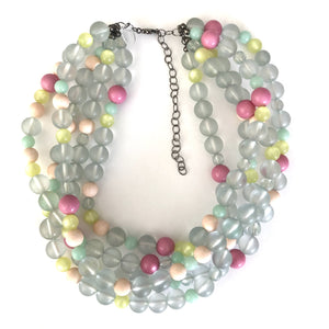 candy beaded necklace