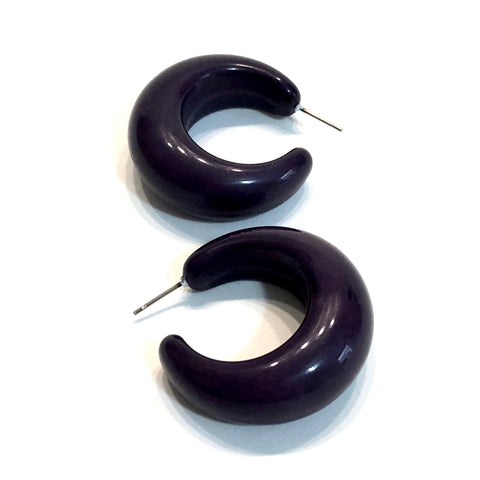 black lucille hoops