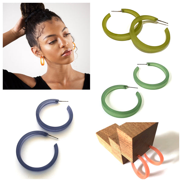 phoenix hoop earrings bundle