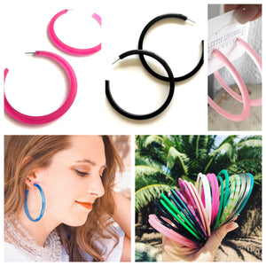 Really Big Hoop Earrings Bundle - Discounted 3 pair special offer