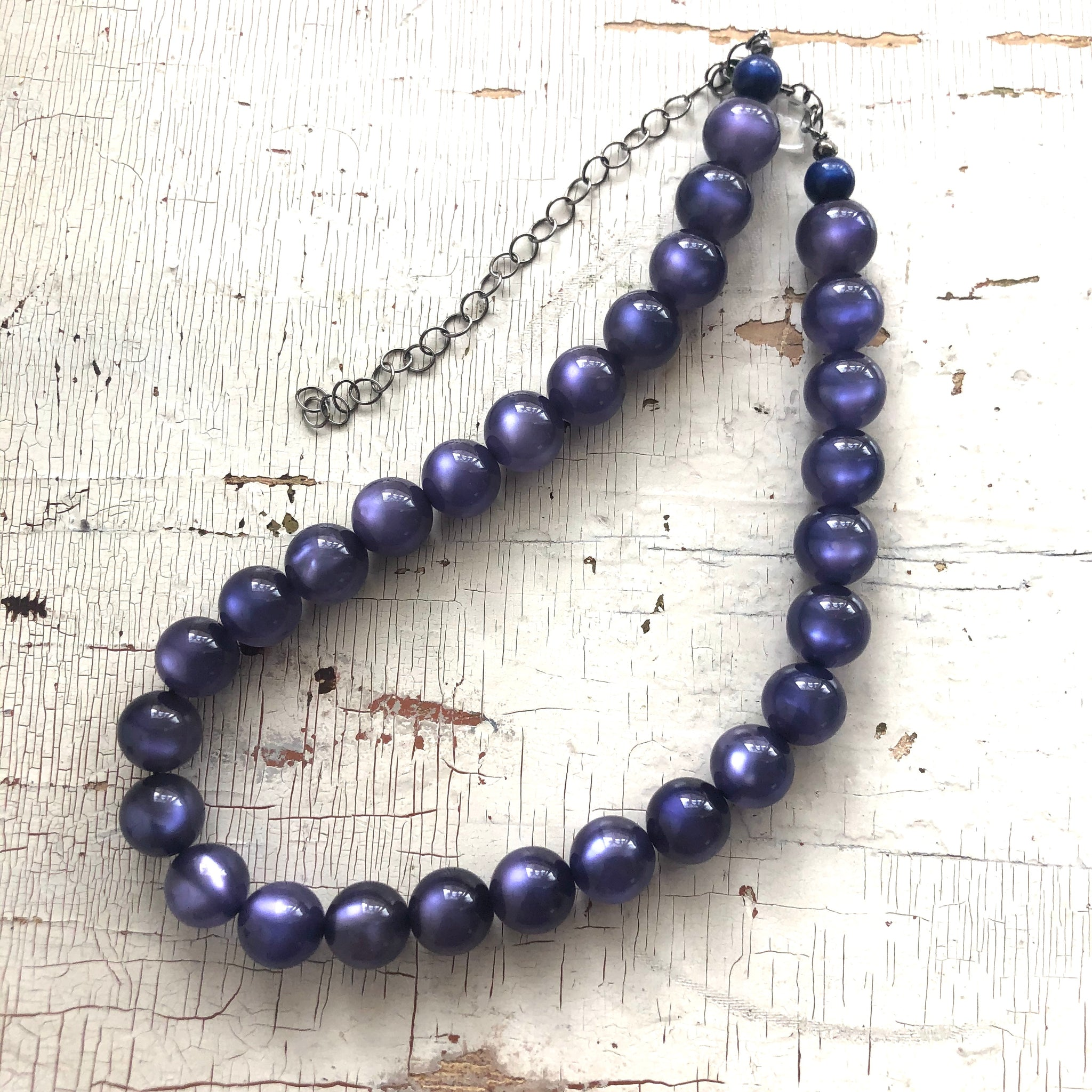 blue moonglow necklace