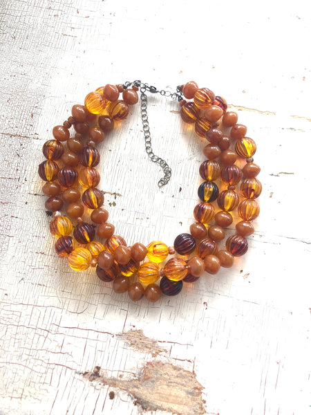 Fall Chunky necklace