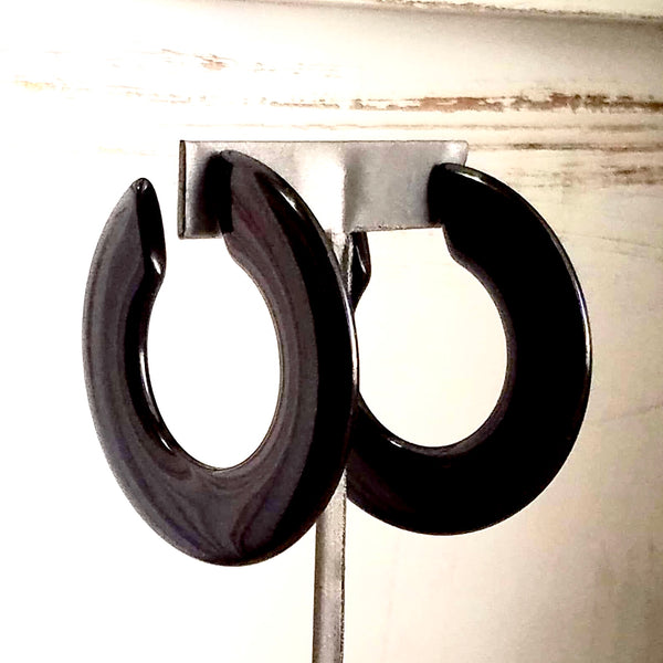 black big hoops