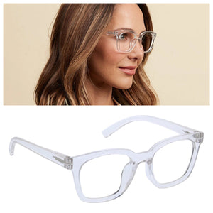 To the Max Readers Glasses Light Blocking - Clear