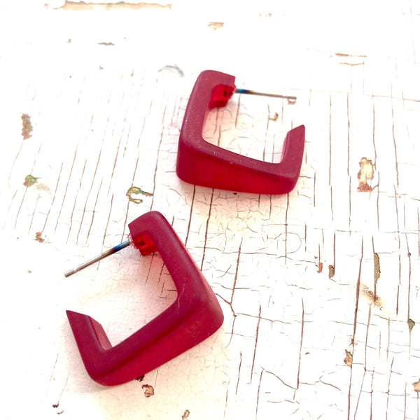 square red hoops