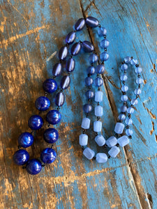 blue rosary rope